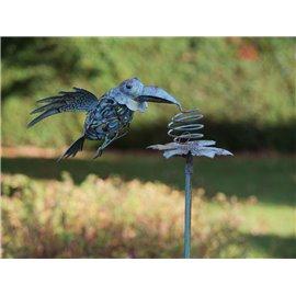 Figurina metal Flying bird
