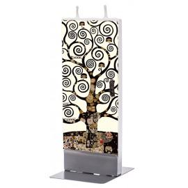 Lumanare plata Flatyz Art Klimt - Tree of Life, black & white