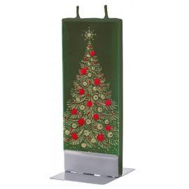 Lumanare Flatyz Gold Christmas Tree On Green
