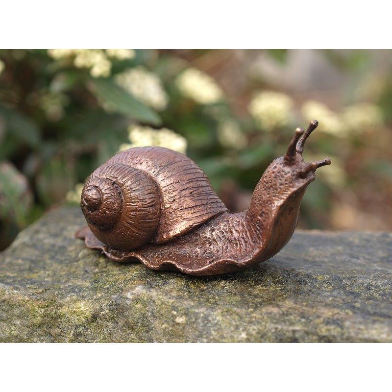 Statuie de bronz moderna Little snail
